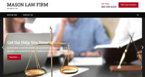 web design portfolio - Law Office